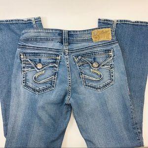 SILVER Suki Surplus Bootcut Jeans 29